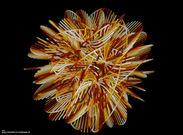 Représentation tridimensionnelle d'une variété hexadimensionnelle de Calabi-Yau, Colonna Jean-François