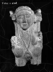 Sphynx en basalte provenant de Oum Raysse achetée à Irbid 12.1968 (Jordanie), Institut Français Du Proche-Orient Ifpo