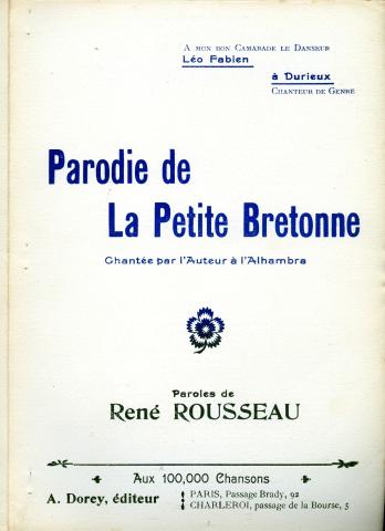 parodie chanson bretonne