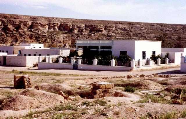 Maison de migrant à Ghomrassen, Tunisie, Simon Gildas