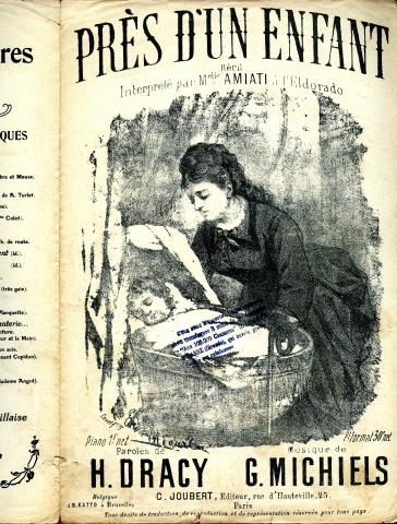 Près d'un enfant : récit interprété par Mademoiselle Amiati à l'Eldorado, Joubert Éditeur .
