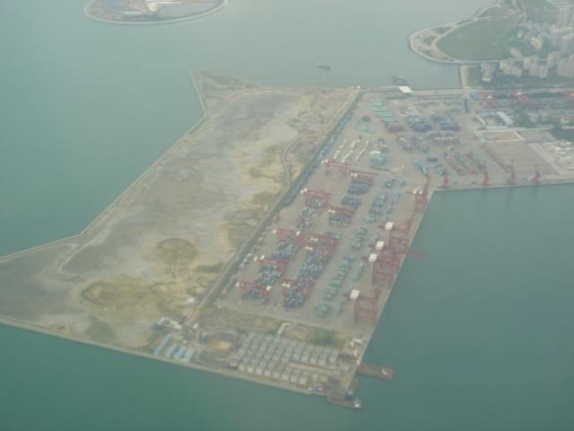 Sea level rise threatens Haikou harbour
