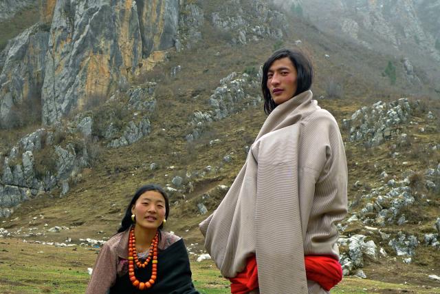 Tibetan couple, Elosua Miguel