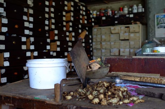 Traditional Chinese pharmacy in Hanwang (Deyang, Sichuan)., Elosua Miguel