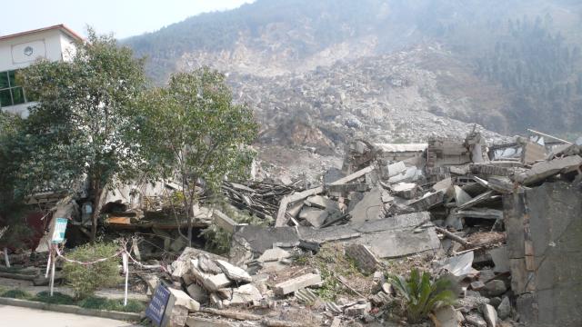 Tremblement de terre à Beichuan au Sichuan en 2008, prise de vue 28, Fabre Guilhem