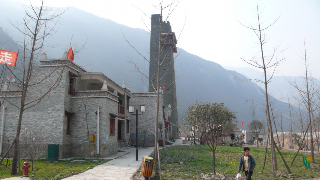 Tremblement de terre à Beichuan au Sichuan en 2008, prise de vue 57, Fabre Guilhem