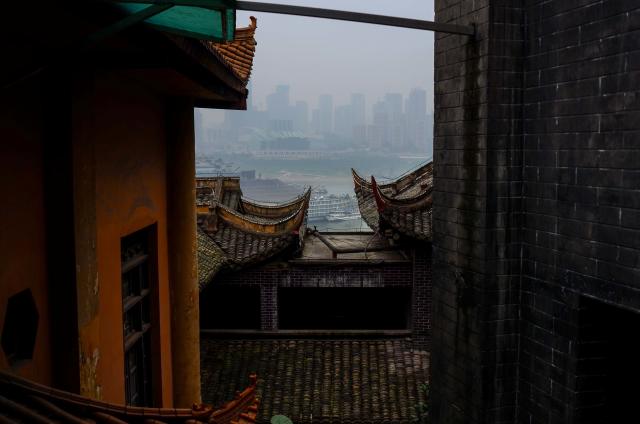 A vanishing Chongqing (II), Elosua Miguel