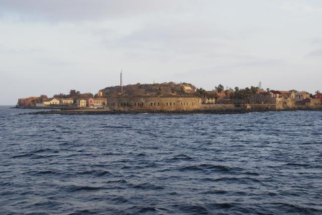 Le Fort de l'Ile de Gorée au Sénégal