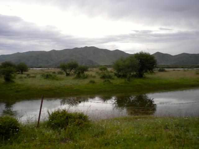 Vue du Rma chu (Fleuve Jaune) à proximité de Chukhama, 2., De Heering Xénia