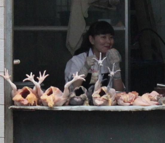 Poulets, Fu Jie .