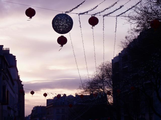 Nouvel an chinois à Bellleville, Paris, Dupuis Marion